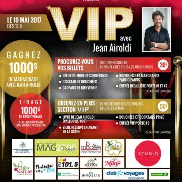 VIP avec Jean Airoldi -