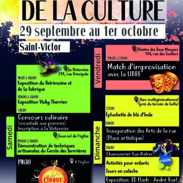Journées de la culture -