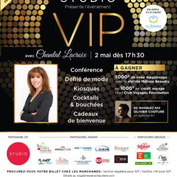 VIP avec Chantal Lacroix -
